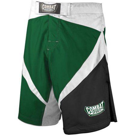 Combat Sports Fight MMA Boardshorts, Size: 38, Green