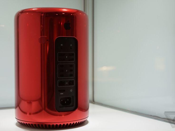 Le Mac Pro voit rouge