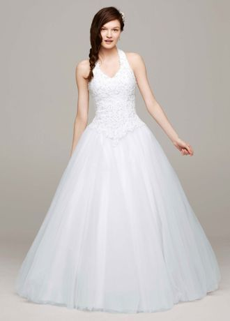 17 best images about halter top wedding dresses on for Wedding dress halter top