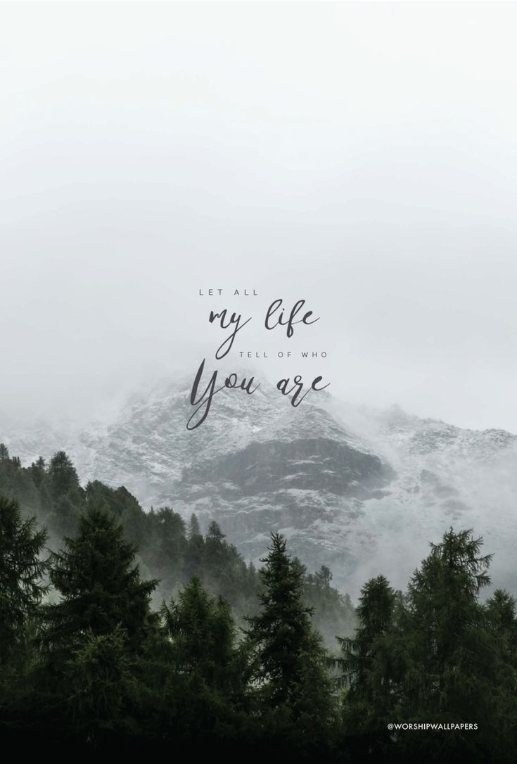 """For the One"" by Jenn Johnson & Bethel Music // Phone screen format // Like us on Facebook www.facebook.com/worshipwallpapers // Follow us on Instagram @worshipwallpapers"
