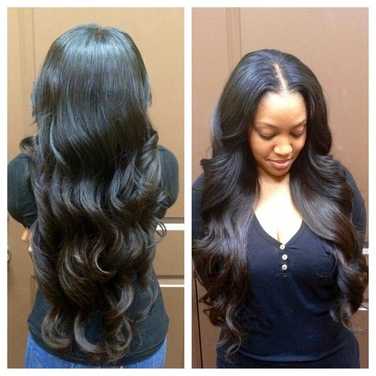 ... sew-in extensions by Sam Francis | DaneiKris Salon in Houston , TX