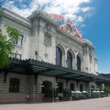 Denver's Updated Union Station for Light Rail and Longer Distance Trains