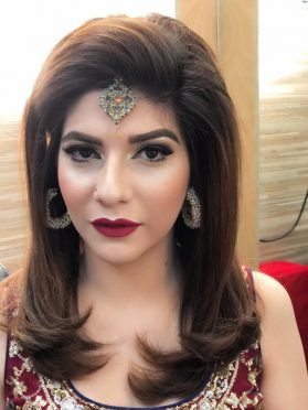 Formal Asian Stani Party Makeup Looks Tutorial 2018 19
