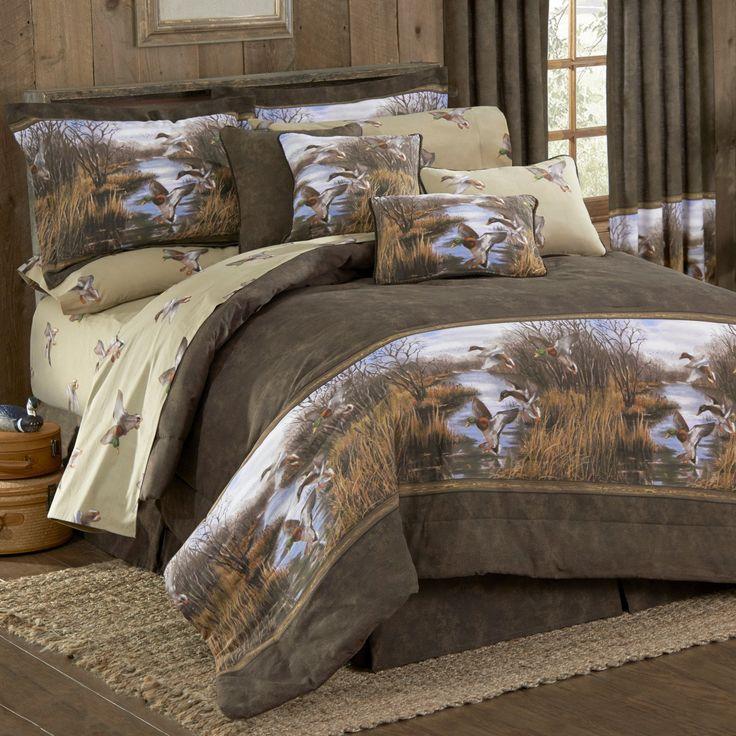 Duck Approach Comforter Set (King Size)