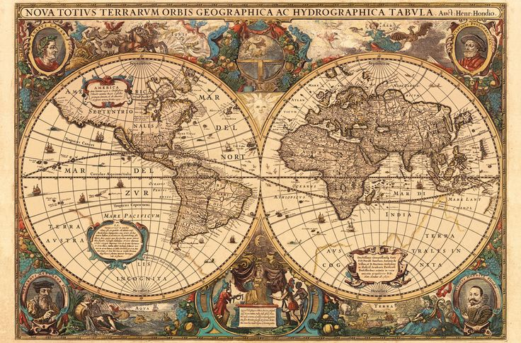 Antique World Map, 5000pc | Adult Puzzles | Puzzles | Products | UK | ravensburger.com