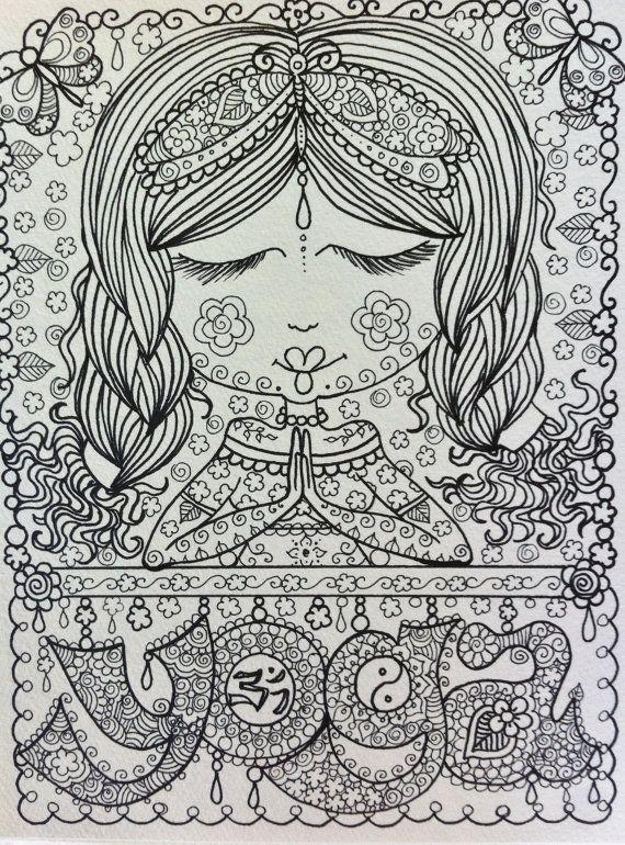 zen art printable coloring pages - photo #44