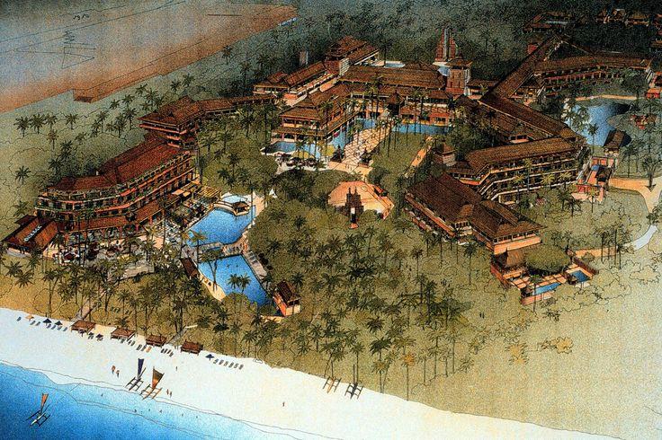 Nusa Dua Beach Hotel #Bali #travel #hotel #architecture #ptwarchitects