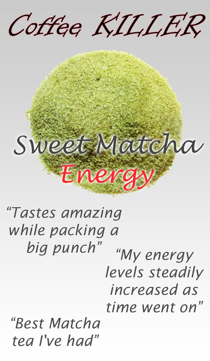Full Leaf's Sweet Matcha Energy gives the ultimate energy boost with Guarana added to sweet matcha to energize your day!  Guarana is the highest source of caffeine available in nature. Guarana seeds contain 2.5 times the amount of caffeine that coffee does! Woah!!! #cleanenergy