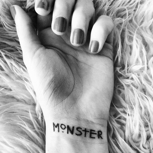 Don't plan to get this but love the idea of it. From the quote: All Monsters Are Human ~ American Horror Story