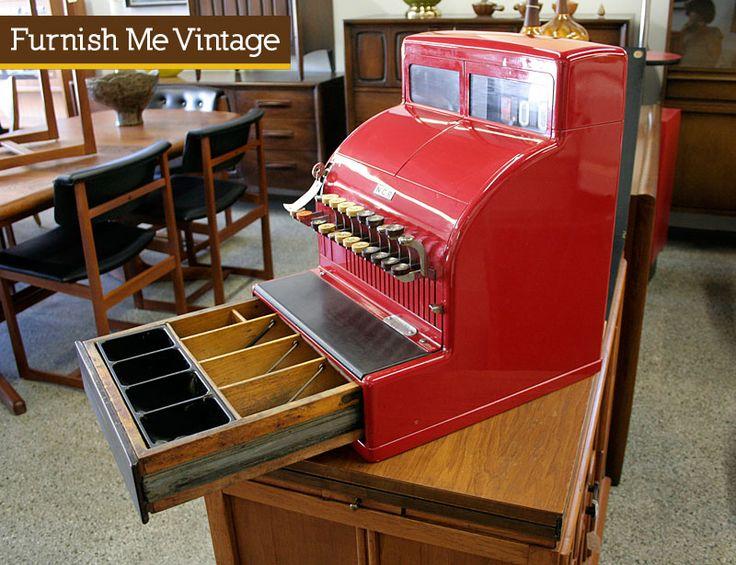 1950 cash register | ... ncr national cash register mechanical cash register machine you