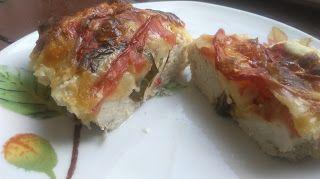 Ania mama Agnieszki: Pierś z kurczaka z mozzarella i pomidorem