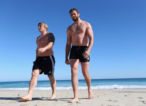 Richard Hibbard and Geoff Parling