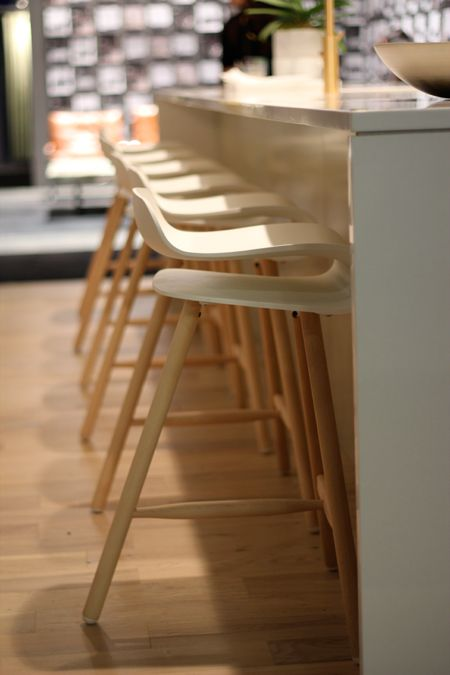Kristalia stools from Livingspace. So comfortable!! Photographed by Rosa Pearson.