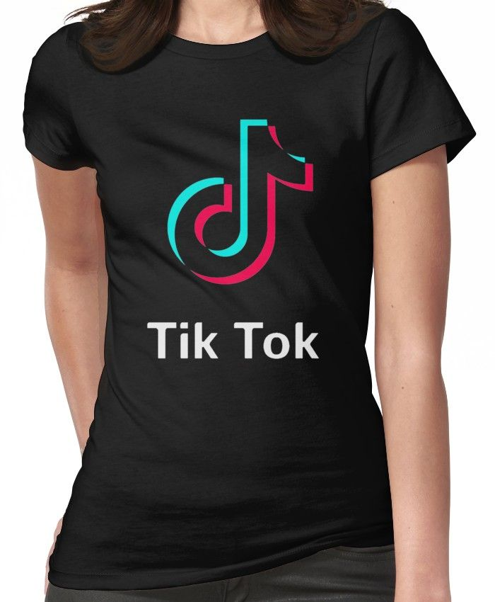 TikTok Women's TShirt in 2019 T shirt, Tik tok, T
