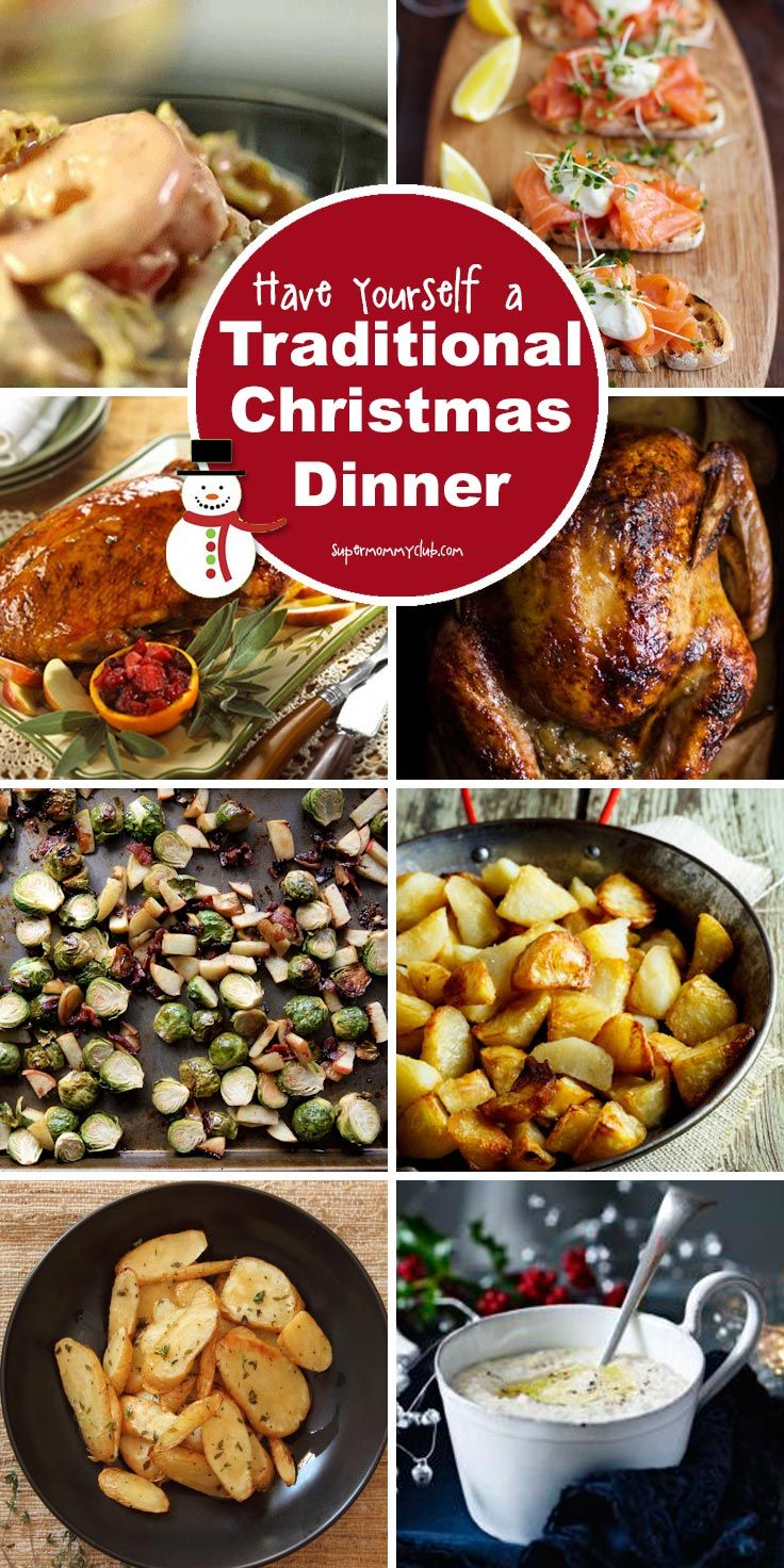 189 best christmas dinner with kids images on pinterest christmas how to cook a traditional christmas dinner menu youll want to stuff yourself with forumfinder Choice Image