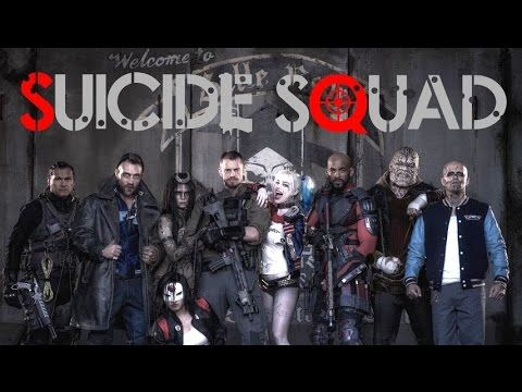 "Suicide Squad"" - Starring Will Smith, Jared Leto, Viola Davis ..."