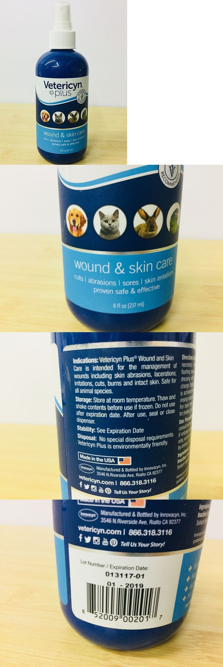 Skin and Coat Care 134791 Vetericyn Plus Wound And Skin
