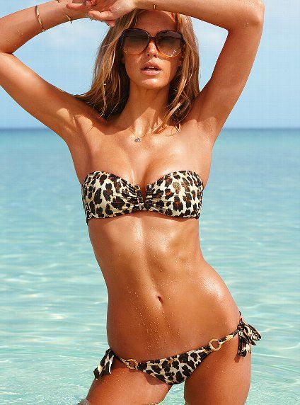 Another definite for summer bathing suits.