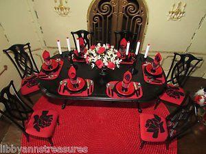 Barbie OOAK Monster High Bratz Doll House Dining Room Furniture Christmas Set
