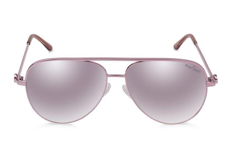 EMPIRE Pink   Oversized Aviator   Skye & Lach Eyewear