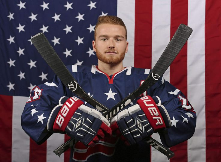U.S. Olympic Winter Games Paralympic sled hockey player Declan Farmer. (AP Photo/Rick Bowmer)