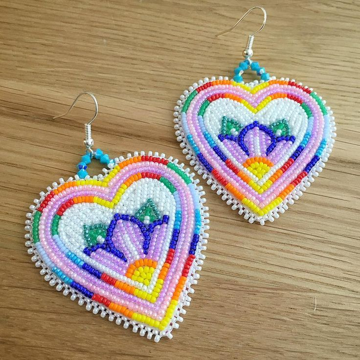 828 best Beautiful beaded earrings images on Pinterest