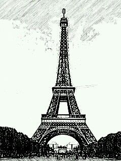 Resultado de imagen para torre eiffel tumblr dibujo