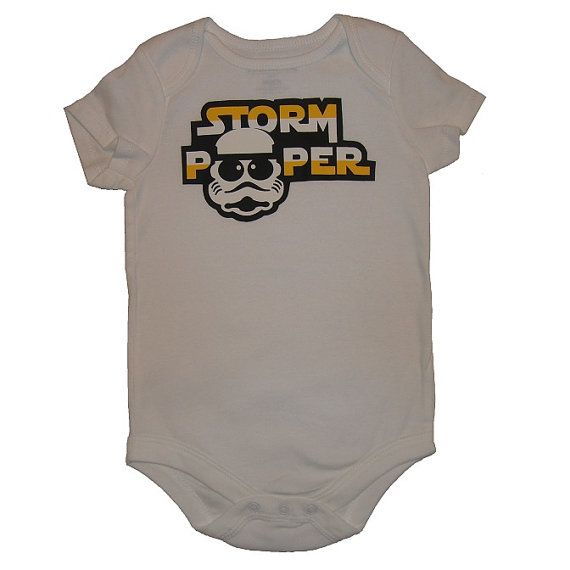 Storm Pooper STORMPOOPER Star Wars Infant Bodysuit One Piece Cute Funny Geek