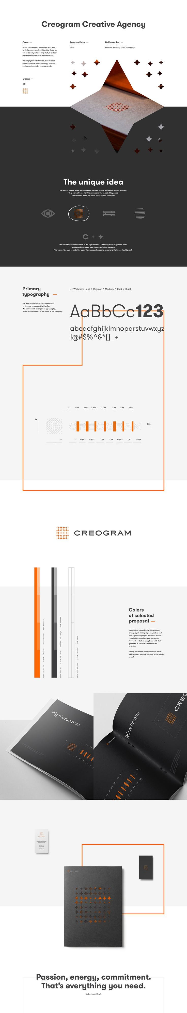 Creogram on Behance