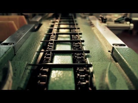 Time lapse of Moleskine pen production    The behind the scenes of the production of Moleskine pens: from the original sketches of the designer, to the factory machines where tips, springs, tubes and lids are created and assembled.