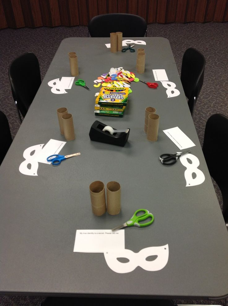 The Show Me Librarian: We're All Heroes: A Superhero Party Program.... I just LOVE this blog!
