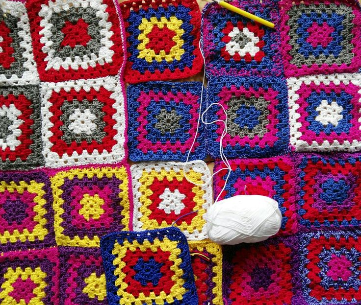 My blanket getting bigger!:)