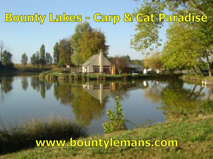 Bounty Carp Lakes - Bounty carp Lakes has a reputation as one of the best social Carp and Catfish fishing holiday venues in France. Bounty is fishing in France at its bes... Check more at http://carpfishinglakes.com/item/bounty-carp-lakes/