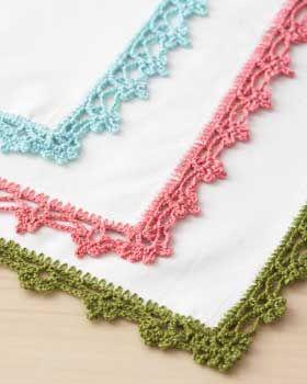 free, lace edging crochet pattern