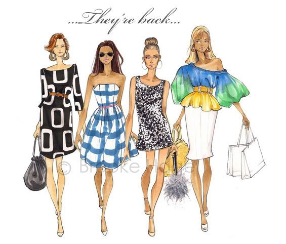 .Brooks Hagel, Satc, Sex, Fashion Sketches, Style, Cities, Art, Fashionillustration, Fashion Illustration