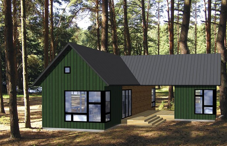 Pin by colleen leming on small modular homes pinterest for Contemporary modular home plans
