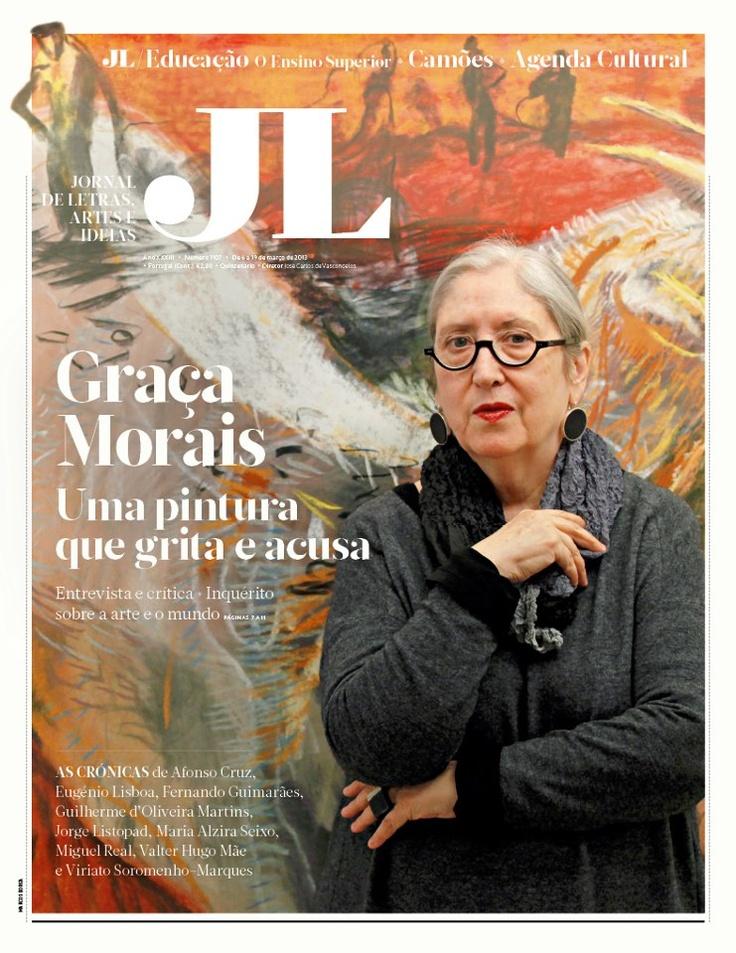 Graça Morais in JL Março 2013