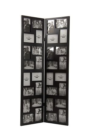 """This screen multi photo frame is a simple yet stylish way to accentuate your favorite photo memories. Displays 32 10x15cm photographs.<div class=""""pdpDescContent""""><BR /><b class=""""pdpDesc"""">Dimensions:</b><BR />L59xW1.5xH115 cm</div>"""