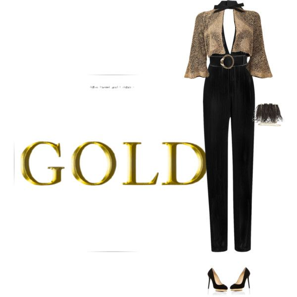 A fashion look from September 2016 featuring bolero jacket, halter top and black pumps. Browse and shop related looks.