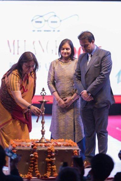Minakshi lekhi at IWP Melange 2016