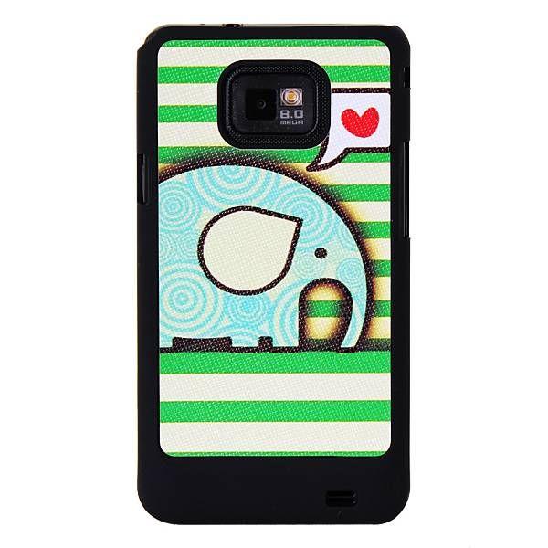 Baby Olifant telefoonhoesje voor Samsung Galaxy S2 - PhoneGeek.nl