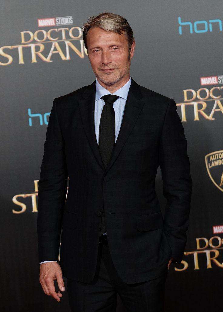 [October 20] 'Doctor Strange' Los Angeles Premiere - 036 - Mads Mikkelsen Source