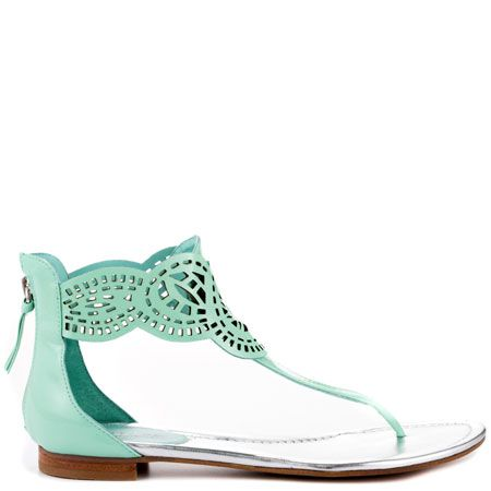 Rolisa - Light Green Pat by Guess Shoes