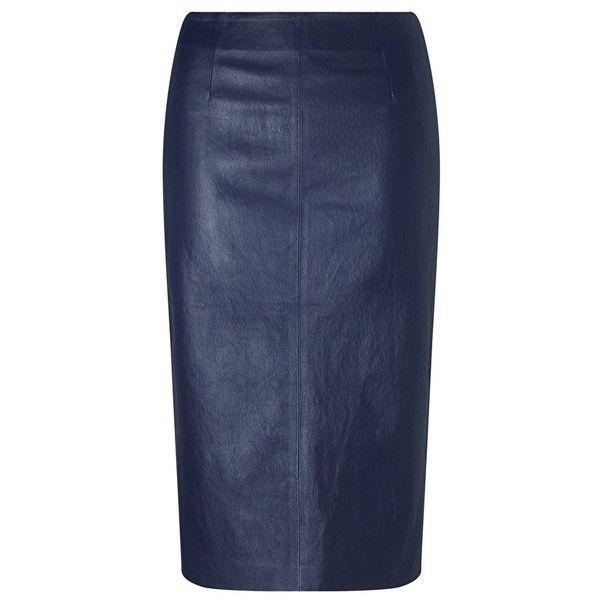 Best 25  Leather pencil skirts ideas on Pinterest   Black leather ...