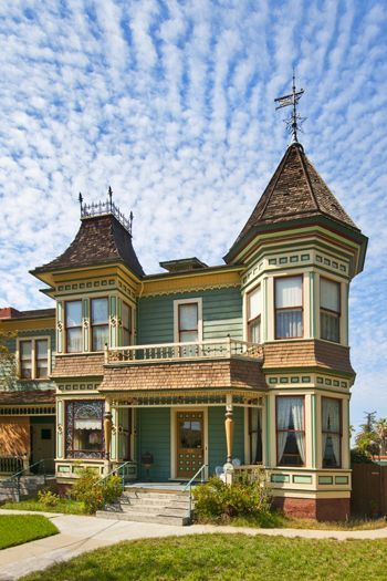victorian houses in riverside,ca   The Wait House, built in 1888, in Riverside…