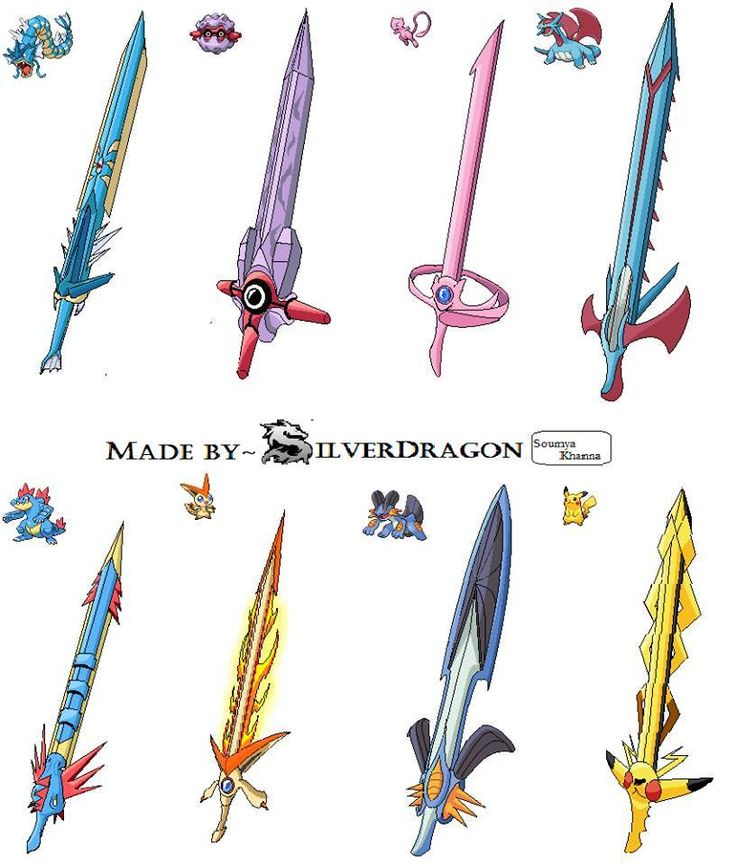 Pokemon Swords// this is both funny and they look awesome