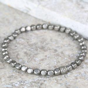 Men's Antique Beaded Bracelet - men's jewellery