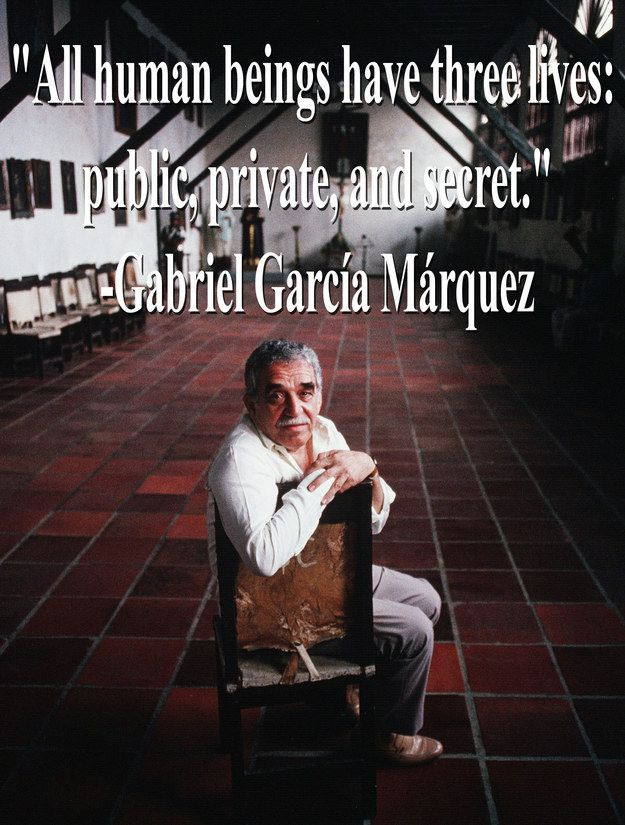 In Loving Memory Of Gabriel García Márquez