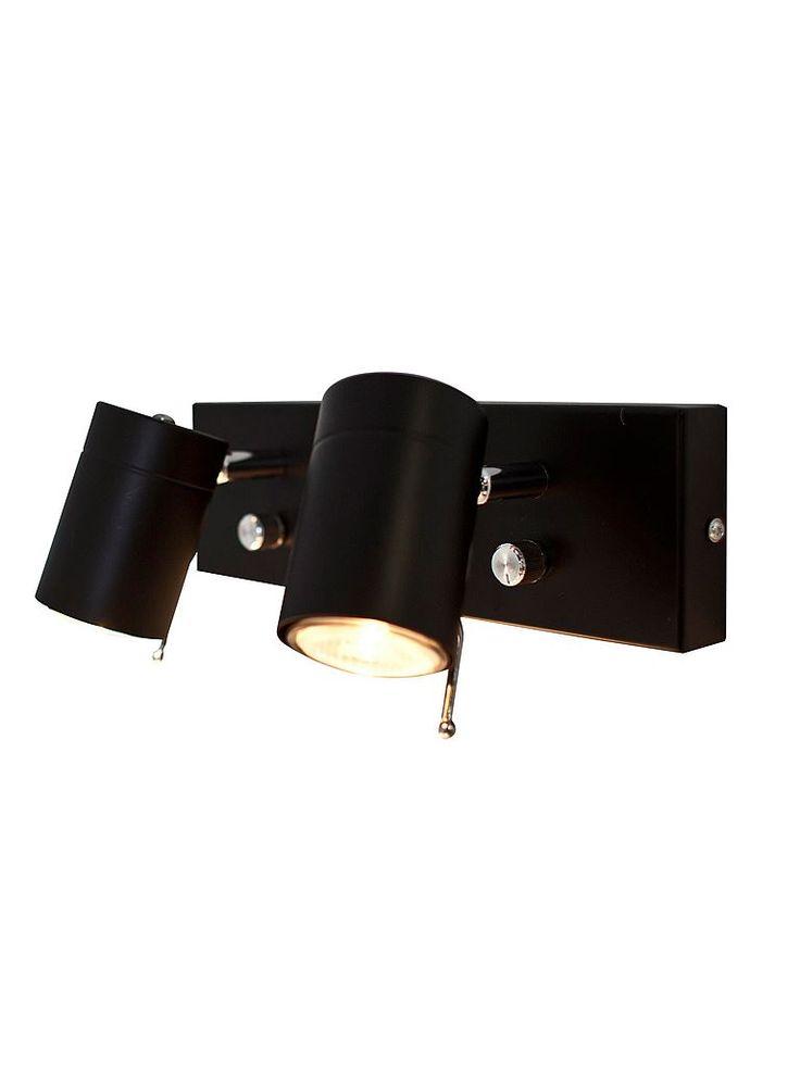 Svart dimbar sänglampa By Rydéns 1986520-4002
