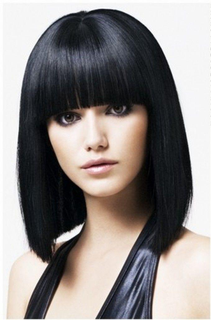 Short Dark Hairstyles Gaya Rambut Medium Gaya Rambut Lurus Rambut Pendek